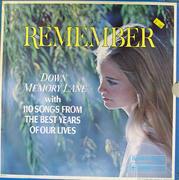"Remember: Down Memory Lane Vinyl 12"" (Used)"