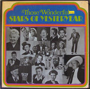 "Those Wonderful Stars Of Yesteryear Vinyl 12"""