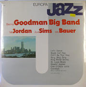 "Benny Goodman BIg Band / Taft Jordan / Zoot Sims / Billy Bauer Vinyl 12"" (New)"