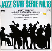 """Wingy Manone And His Orchestra Vinyl 12"""""""
