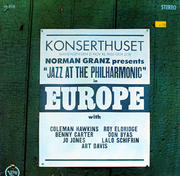 "Norman Granz Presents: ""Jazz At The Philharmonic"" In Europe Vinyl 12"" (Used)"