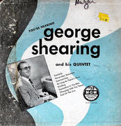 "George Shearing And His Quintet Vinyl 10"" (Used)"