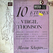 "Virgil Thompson Vinyl 10"" (Used)"