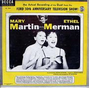 "Mary Martin / Ethel Merman Vinyl 10"" (Used)"