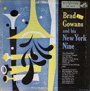 "Brad Gowans And His New York Nine Vinyl 10"" (Used)"
