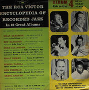 "The RCA Victor Encyclopedia Of Recorded Jazz: Album 4 Eck To Gar Vinyl 10"" (Used)"