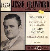 "Jesse Crawford Vinyl 7"" (Used)"