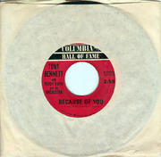 "Tony Bennett / Percy Faith Vinyl 7"" (Used)"