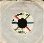 "Duke Ellington / Louis Armstrong Vinyl 7"" (Used)"