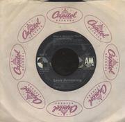 "Louis Armstrong / Wayne Fontana and The Mindbenders Vinyl 7"" (Used)"