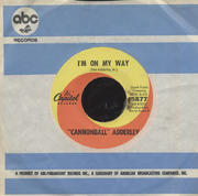 "Cannonball Adderley Vinyl 7"" (Used)"