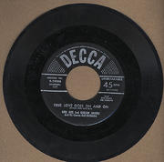 """Burl Ives and Gordon Jenkins and His Chorus and Orchestra Vinyl 7"""" (Used)"""