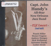 Capt. John Handy 's All-Star New Orleans Jazz Band CD