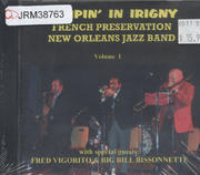 French Preservation New Orleans Jazz Band CD