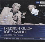 Friedrich Gulda / Joe Zawinul CD