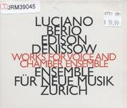 Luciano Berio CD