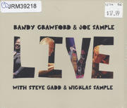 Randy Crawford & Joe Sample Live CD