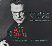 Charlie Haden Quartet West featuring Shirley Horn and Bill Henderson CD