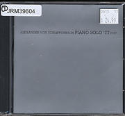 Alexander Von Schlippenbach CD