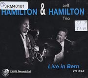 Scott Hamilton & Jeff Hamilton Trio CD