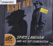 Spats Langham and His Hot Combination CD