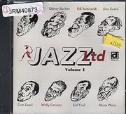 Jazz Ltd: Volume 1 CD