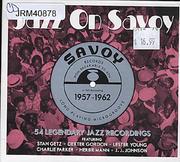 Jazz On Savoy: 1957-1962 CD