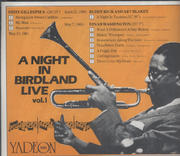 A Night in Birdland Live: Vol. 1 CD