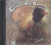 Cowboy Roy Brown CD