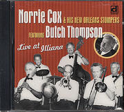 Norrie Cox & His New Orleans Stompers CD