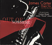 James Carter Organ Trio CD