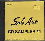 Solo Art CD Sampler #1 CD