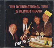 The International Trio & Oliver Franc CD