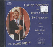 Lucien Barbarin and the Palm Court Swingsters CD