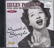 Helen Forrest with Artie Shaw & his Orchestra Vol. 2 CD