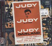 Judy at Carnegie Hall CD