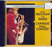 Gerry Mulligan / Chet Baker CD