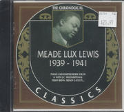 "Meade ""Lux"" Lewis CD"