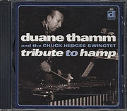 Duane Thamm & The Chuck Hedges Swingtet CD