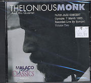 Thelonious Monk & His Quartet CD