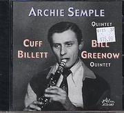 Archie Semple Quintet CD
