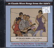 16 Classic Blues Songs from the 1920's Vol. 2 CD