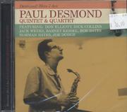 Paul Desmond Quartet/ Paul Desmond Quintet CD