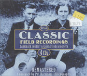 Classic Field Recordings CD