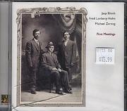 Jaap Blonk / Fred Lonberg-Holm / Michael Zerang CD