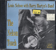 Louis Nelson With Barry Martyn's Band CD