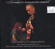 Tisziji Munoz & Marilyn Crispell CD
