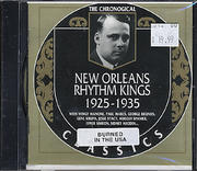 New Orleans Rhythm Kings CD