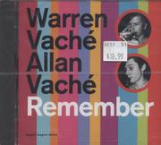 Warren Vache / Allan Vache CD