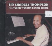 Sir Charles Thompson with Yoshio Toyama & Dixie Saints CD